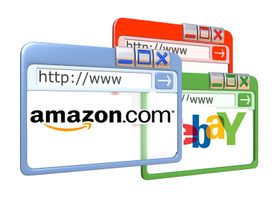 E-bay and Amazon