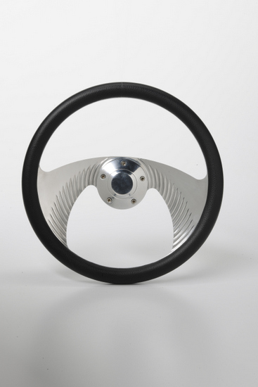 """Picture of Steering Wheel - 14"""" Angel Chrome"""