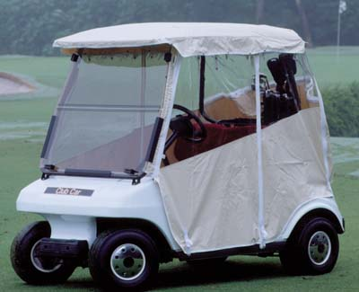 """Picture of Enclosure EZGO TXT with Factory 57"""" top"""