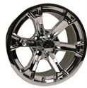 Picture of 14x7 Raven Mirrored Wheel Assembly