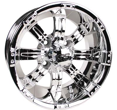 Picture of Tire / Wheel Assembly - 14x7 Tempest Mirrored