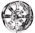 Picture of 14x7 Tempest Mirrored Wheel Assembly