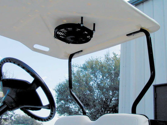 stenten 39 s golf cart accessories fans overhead. Black Bedroom Furniture Sets. Home Design Ideas