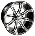 "Picture of Wheel Only - 14"" - Tempest Mach/Blk 3+4 offset"