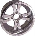 "Picture of Wheel Only - 12"" - Twister Polished 2+4 offset"