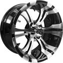 "Picture of Wheel Only - 14"" - Vampire Machined/Blk w/ 3+4 offset"
