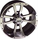 "Picture of Wheel Only - 10"" - Storm Trooper Blk/Mach 3+4 Offset"