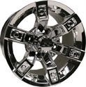"Picture of Wheel Only - 14"" - Brute Mirrored w/ 3+4 Offset"