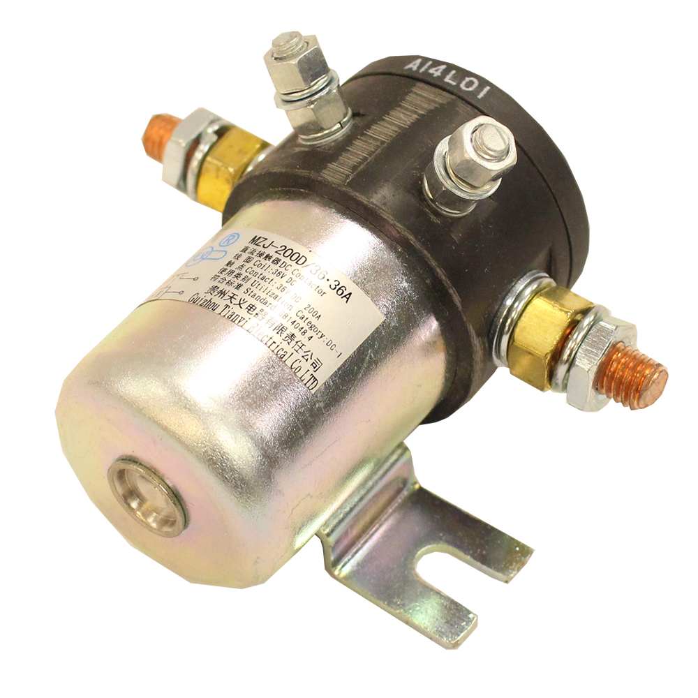 Picture of Solenoid - 200 AMP - 36V