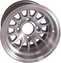 "Picture of Wheel Only - 10"" - Medusa Machined w/Silver"