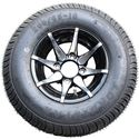 Picture of Tire / Wheel Assembly - 10x7 Machined 8 Spoke