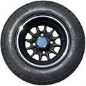 Picture of Tire / Wheel Assembly - 10x7 Web - Black & Silver