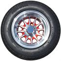 Picture of Tire / Wheel Assembly - 10x7 Web - Red & Silver