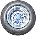 Picture of Tire / Wheel Assembly - 10x7 Web - Blue & Silver