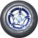Picture of Tire / Wheel Assembly - 10x7 New Edition - Blue & Silver