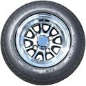 Picture of Tire / Wheel Assembly - 10x7 Neutron - Black & Silver
