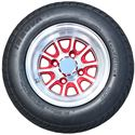 Picture of Tire / Wheel Assembly - 10x7 Neutron - Red & Silver