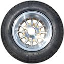 Picture of Tire / Wheel Assembly - 10x7 Web - Gold & Silver