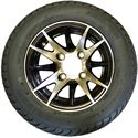 Picture of Tire / Wheel Assembly - 10x7 Special Opps - Black & Silver