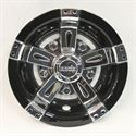 Picture of Wheel Cover - Vegas Black and Chrome