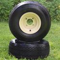 "Picture of Tire/Wheel Combo - 8"" - Beige Steel"