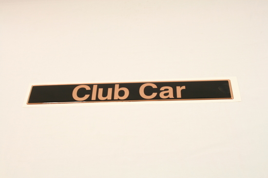 Picture of Factory Name Plate - Club Car Precedent