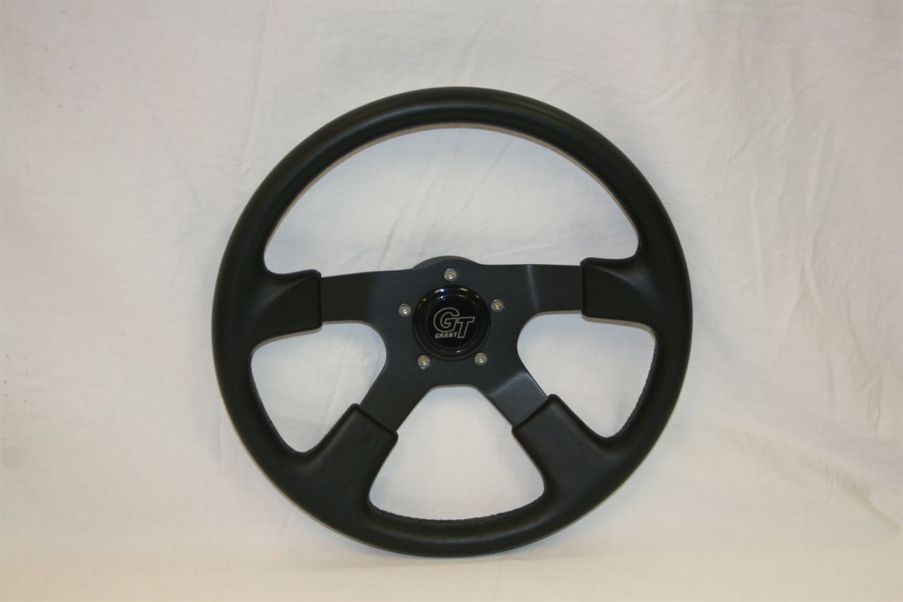 Picture of Steering Wheel - Formula 4 - Black/Black