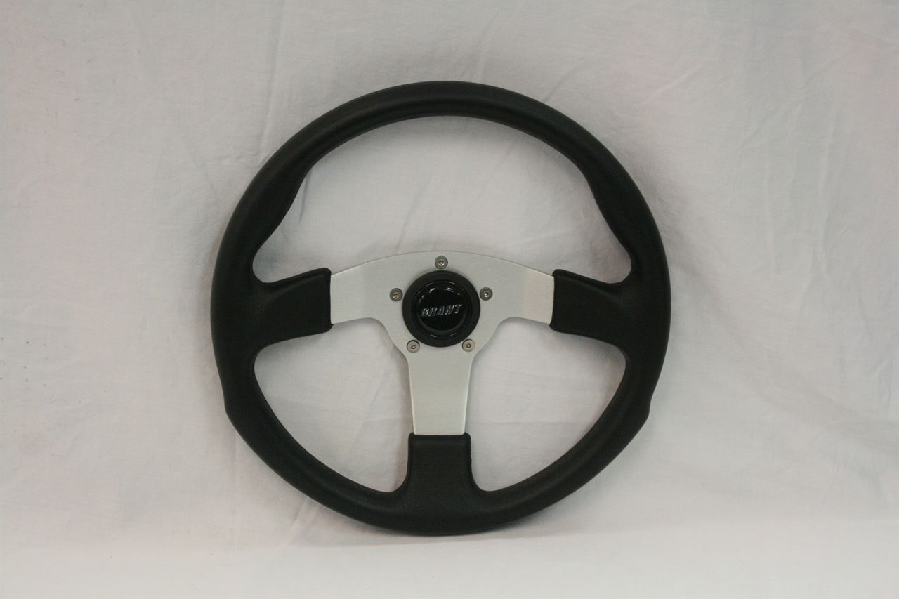 Picture of Steering Wheel - Formula GT - Black/Silver