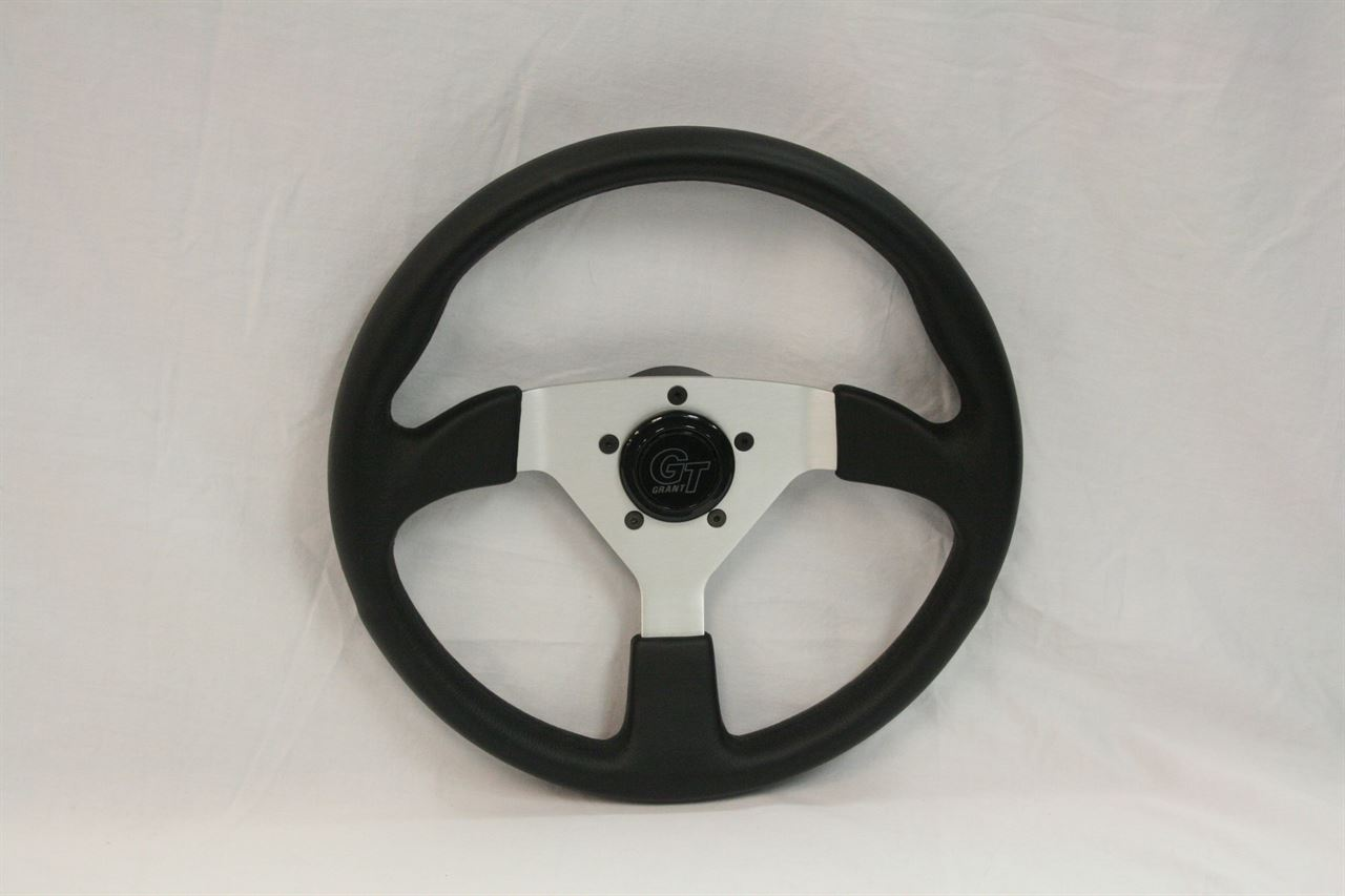 Picture of Steering Wheel - Formula 1 - Black/Silver