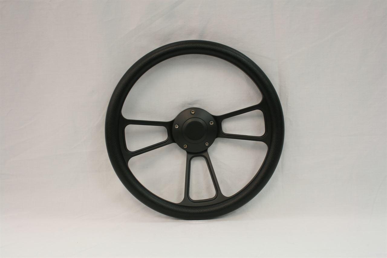 "Picture of Steering Wheels - 14"" Muscle Black"