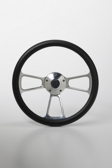 "Picture of Steering Wheels - 14"" Muscle Chrome"