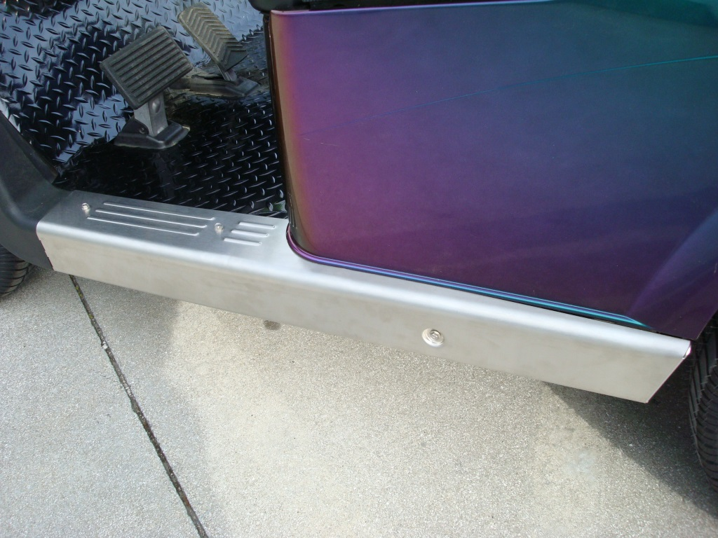 Picture of Rocker Panel - EZGO RXV - Stainless Steel