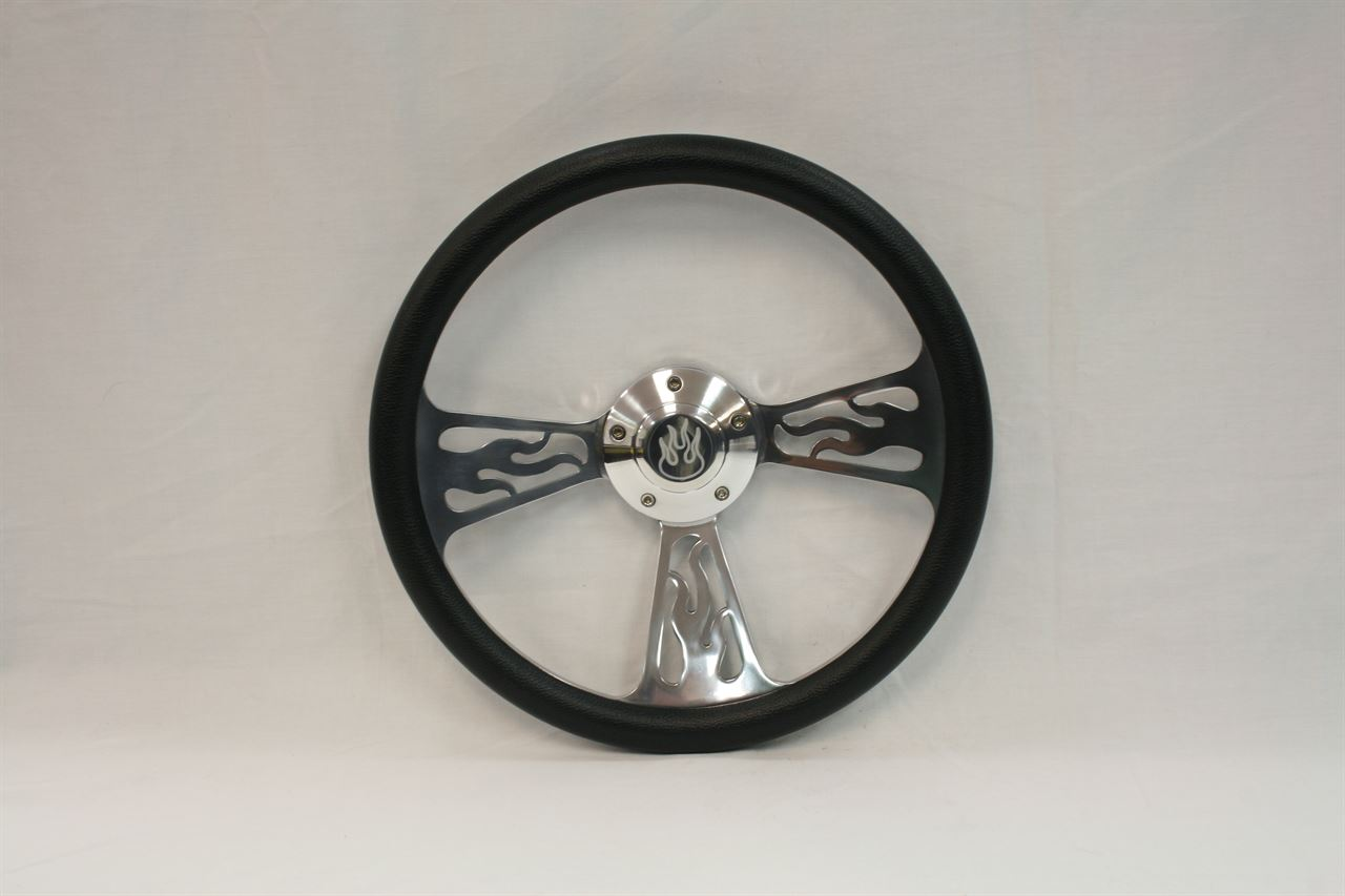 """Picture of Steering Wheels - 14"""" Flame"""