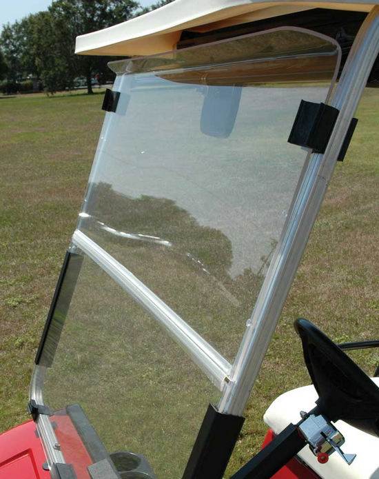 Picture of Windshield - EZGO - Hinged Folding