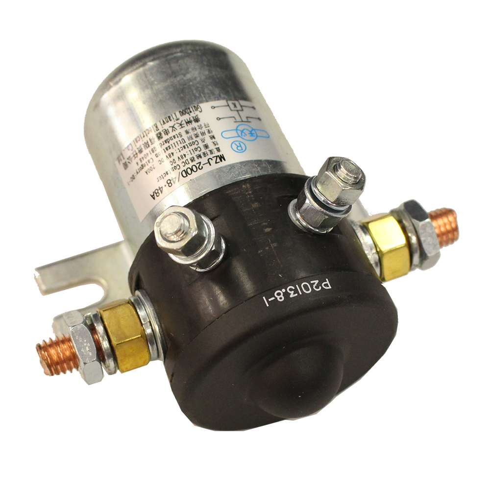 Picture of Solenoid - Universal - 48V - 200 AMP