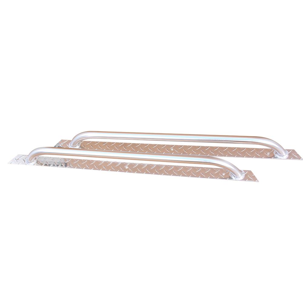 Picture of Nerf Bars - Diamond Plate Aluminum - Universal