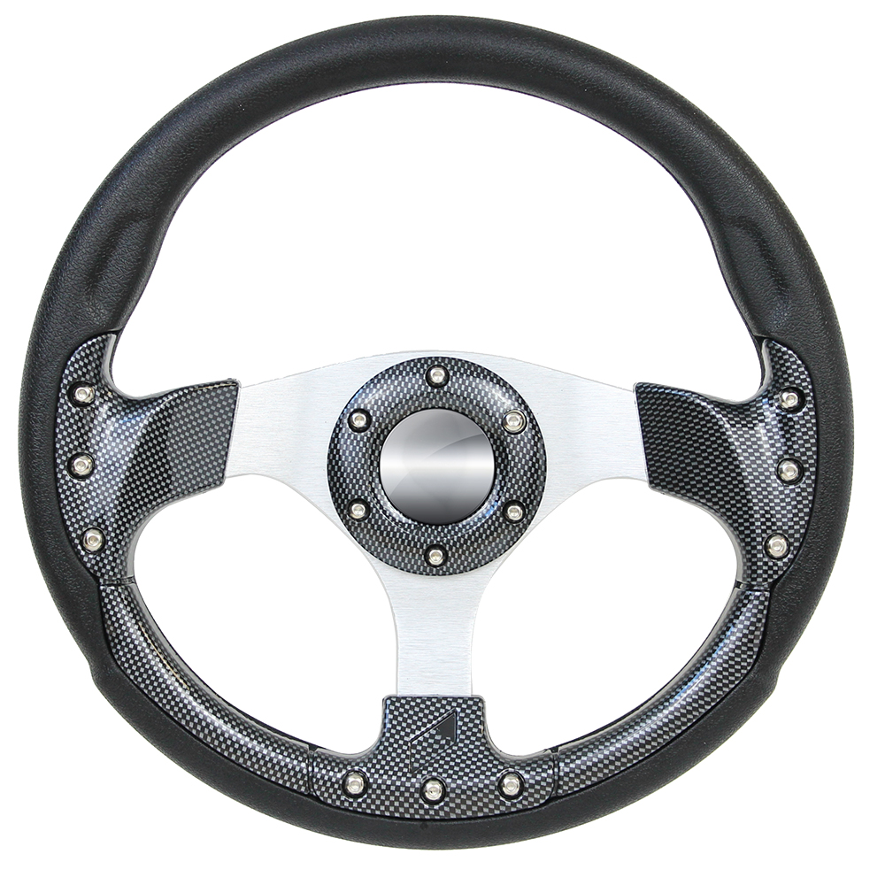 "Picture of Steering Wheels - 12.5"" Pursuit Performance - Carbon Fiber/Black"