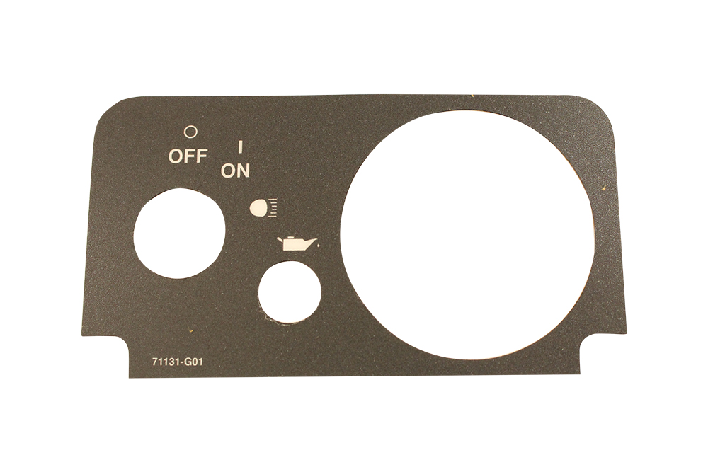 Picture of Console Plate Label - TXT Fleet 2010+