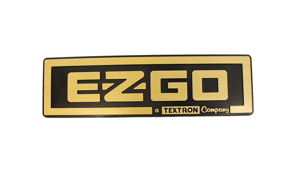 Picture of Name Plate - TXT - Gold/Black