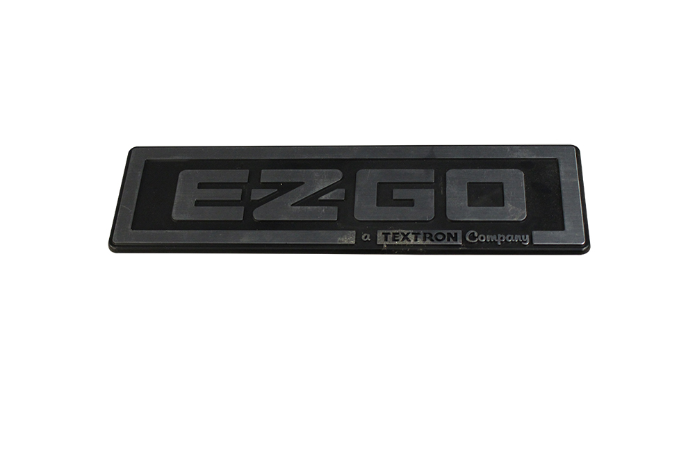 Picture of Name Plate - TXT - Silver/Black
