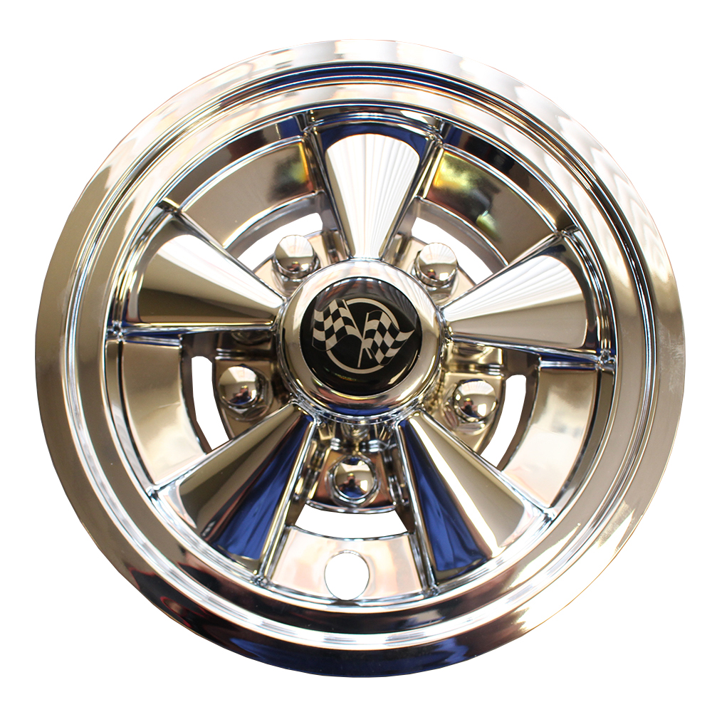 Picture of Wheel Covers - Rally Classic Chrome