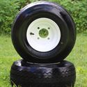 "Picture of Tire/Wheel Combo - 8"" - White Steel"