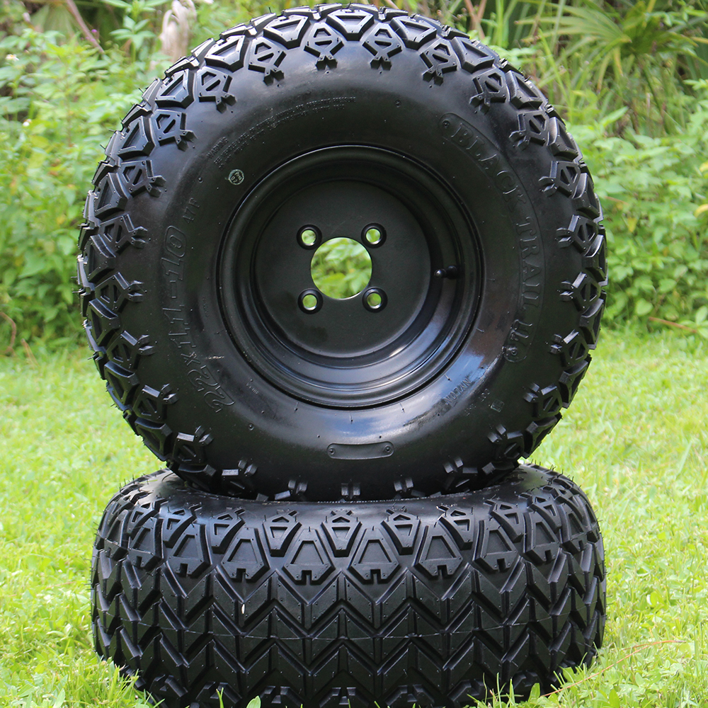 "Picture of Tire/Wheel Combo - 10"" - Black Steel"