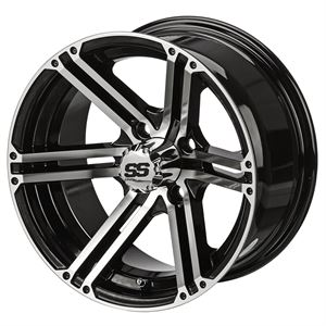 "Picture of Tire/Wheel Combo - 10"" - Phantom Machined/Black"
