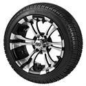 "Picture of Tire/Wheel Combo - 14"" - Goblin Machined/Black"