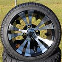 "Picture of Tire/Wheel Combo - 12"" - Goblin Machined/Black"