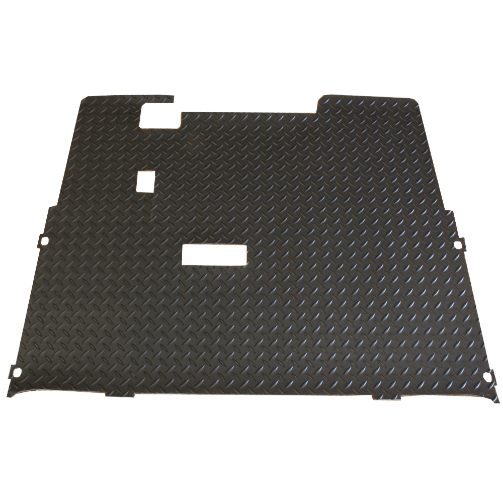 Picture of Floor Mat - EZGO TXT - Rubber Diamond Plate Mat
