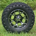 "Picture of Tire/Wheel Combo - 12"" - Spider"