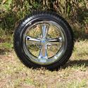 "Picture of Tire/Wheel Combo - 14"" - ITP Cragar"